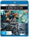 Jurassic World / Jurassic World Fallen Kingdom (Blu Ray)