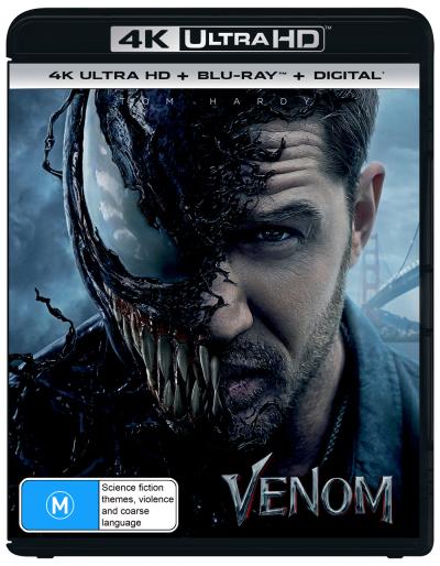 Venom 4k Uhd Blu Ray Dvdland