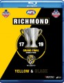 AFL Richmond Yellow And Black Grand Final Double Pack 2017 And 2019 (Blu Ray)