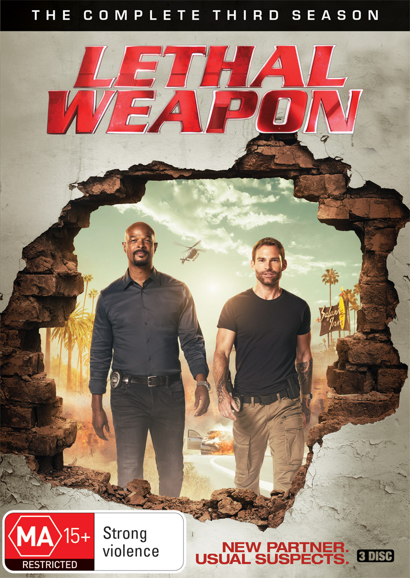 Lethal Weapon 3. Staffel