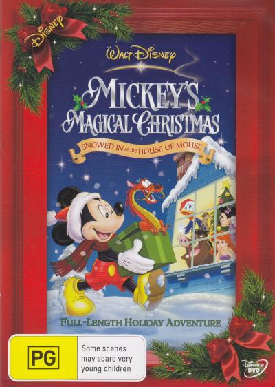 Mickeys Magical Christmas.Mickeys Magical Christmas Dvd Dvdland