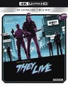 They Live (4K UHD Blu Ray)
