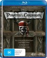 PIRATES OF THE CARIBBEAN QUADRILOGY (BLU RAY)
