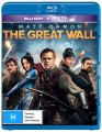 THE GREAT WALL (BLU RAY)