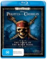 PIRATES OF THE CARIBBEAN: CURSE OF THE BLACK PEARL (BLU RAY)