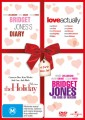 Bridget Jones Diary / Bridget Jones Edge Of Reason / Love Actually / Holiday