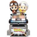 Back To The Future Part II - Marty McFly And Doc Brown (Cosrider Figure)