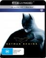 Batman Begins (4K UHD Blu Ray)
