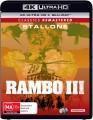 Rambo 3 (4K UHD Blu Ray)