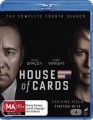 House Of Cards - Complete Season 4 (Blu Ray)