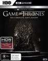 Game Of Thrones - Complete Season 1 (4K UHD Blu Ray)