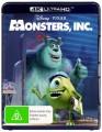 Monsters Inc (4K UHD Blu Ray)