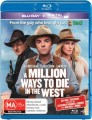 A Million Ways To Die In The West (Blu Ray)