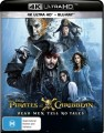 Pirates Of The Caribbean: Dead Men Tell No Tales (4K UHD Blu Ray)