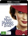 Mary Poppins Returns (4K UHD Blu Ray)