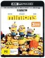 Minions (4K UHD Blu Ray)